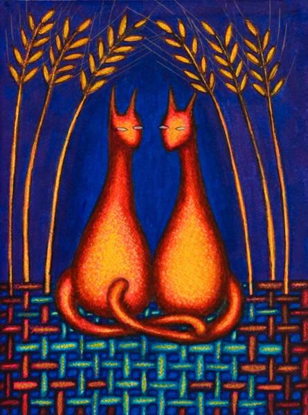 Kool Kats Art Print