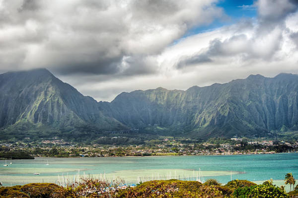 Photograph - Ko'olau And H-3 In Color by Dan McManus