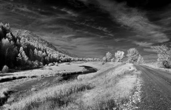 Kootenai Wildlife Refuge In Infrared 2 Art Print