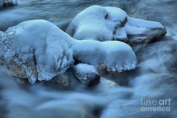 Photograph - Kootenay Ice Caps by Adam Jewell