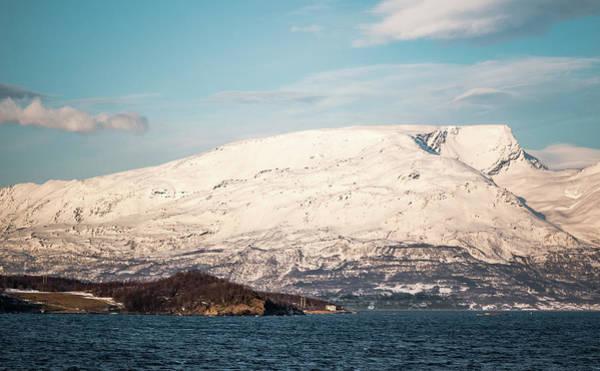Photograph - Koppangsfjellet Over Lyngenfjord Troms Norway by Adam Rainoff