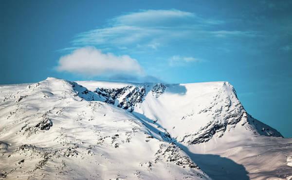 Photograph - Koppangsfjellet Peak Lyngen Troms Norway by Adam Rainoff