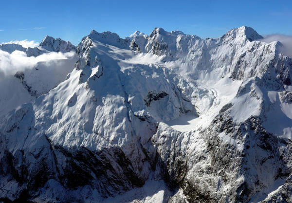 Photograph - Korako Glacier by Nicholas Blackwell