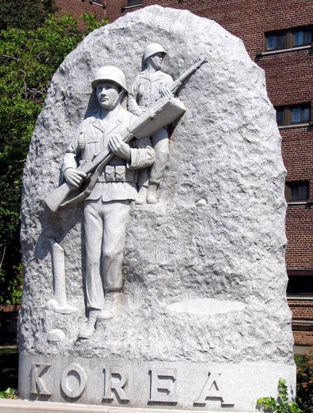 Photograph - Korean War Memorial 1 Buffalo New York by Rose Santuci-Sofranko