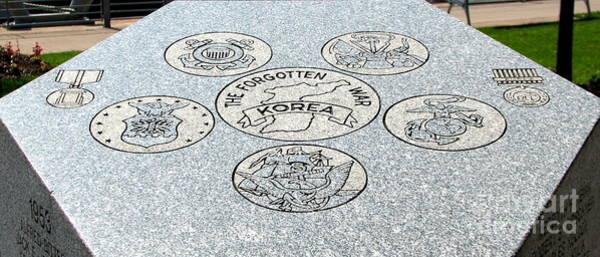 Photograph - Korean War Memorial 2 Buffalo New York by Rose Santuci-Sofranko
