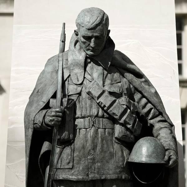 Photograph - Korean War Memorial London by Stephen Taylor