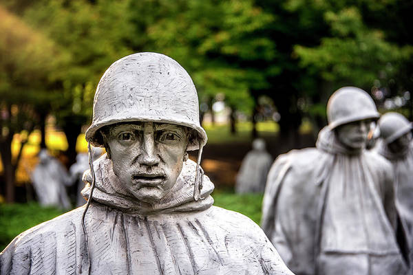 Photograph - Korean War Memorial by Ryan Wyckoff