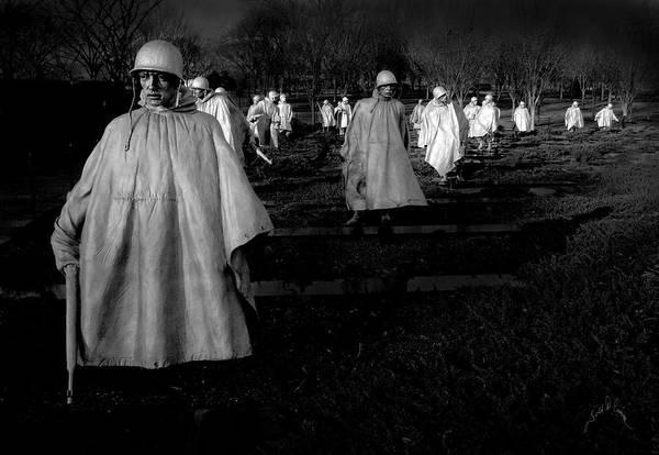 Photograph - Korean War Memorial by Williams-Cairns Photography LLC
