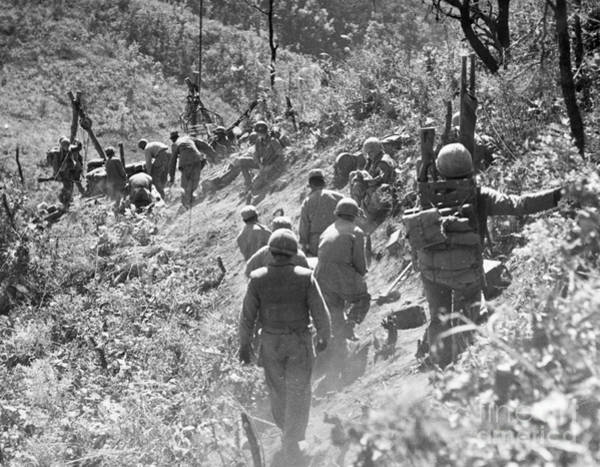 Photograph - Korean War: Triangle Hill by Granger