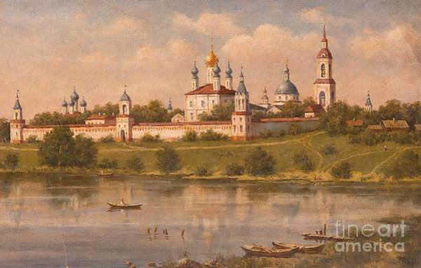 Russian River Painting - Kostroma by MotionAge Designs
