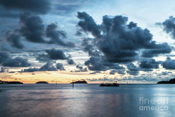 Photograph - Kota Kinabalu Sunset by Didier Marti