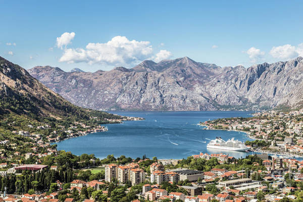 Photograph - Kotor Bay In Montenegro by Didier Marti
