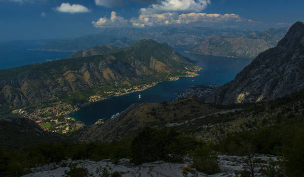 Famous Wall Art - Photograph - Kotor Bay In Montenegro by Jaroslaw Blaminsky