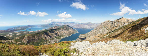 Photograph - Kotor Bay Panorama In Montenegro by Didier Marti