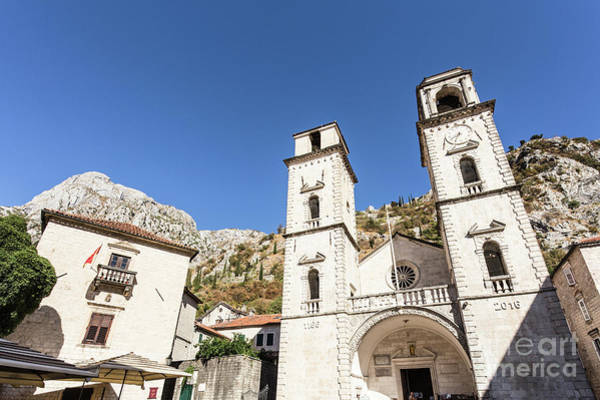 Photograph -  Kotor Old Town In Montenegro by Didier Marti