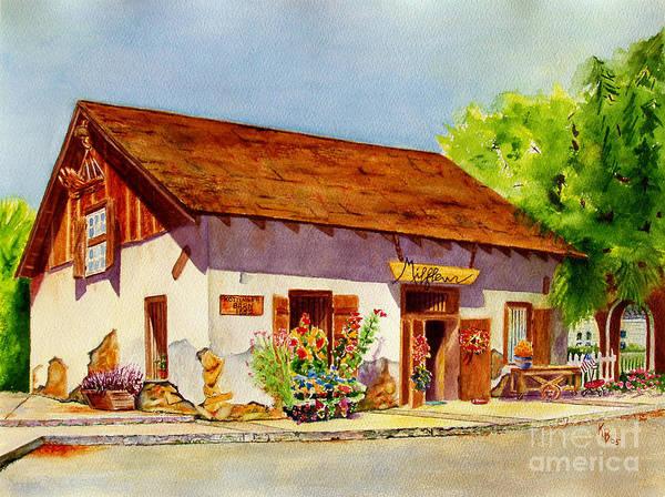 Painting - Kottinger Barn by Karen Fleschler