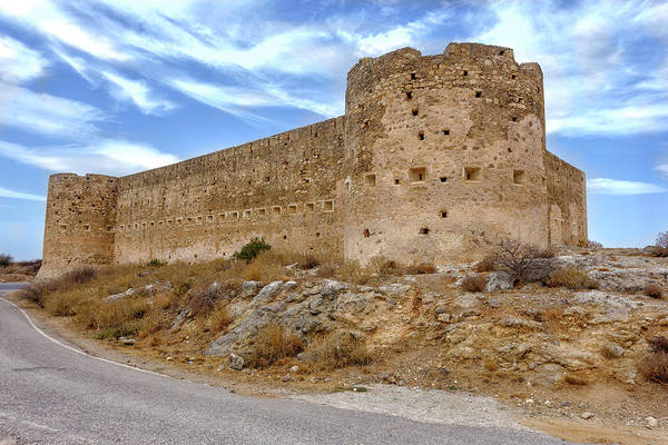 Photograph - Koulos Fortress At Aptera by Paul Cowan