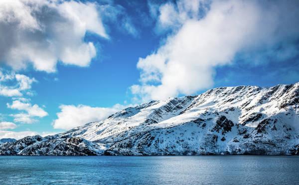 Photograph - Koven Mountain Talvik Norway by Adam Rainoff