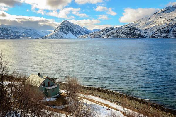 Photograph - Kovneset Peak Near Alta Norway by Adam Rainoff