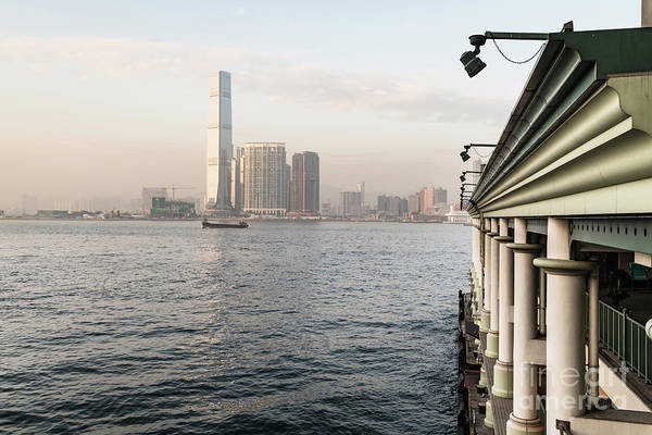 Photograph - Kowloon Skyline From The Star Ferry Pier In Hong Kong Island by Didier Marti