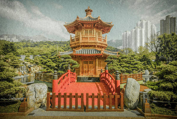 Photograph - Kowloon - The Yellow Pavillion by Mark Forte
