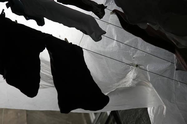 Photograph - Krakow Laundry by KG Thienemann