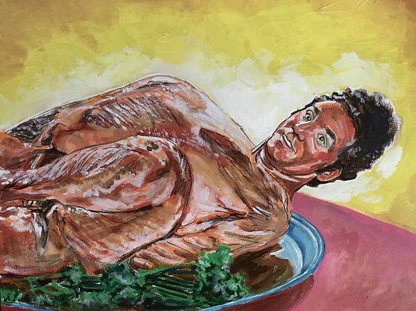 Kramer Turkey Art Print