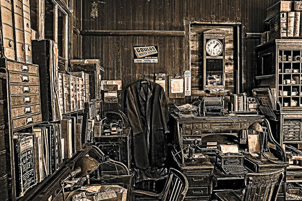 Photograph - Kregel Windmill Factory Office by Edward Peterson