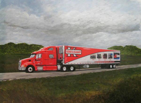 Painting - Kreilkamp Truck by Anita Burgermeister