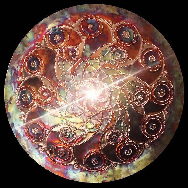 Digital Art - Kreiskreisler Lichtmandala by Robert Thalmeier