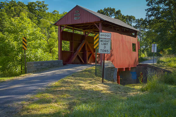 Photograph - Krepp's Covered Bridge by Jack R Perry