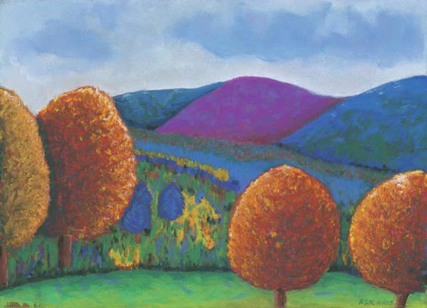 Pastel - Kripalu Autumn by Anne Katzeff