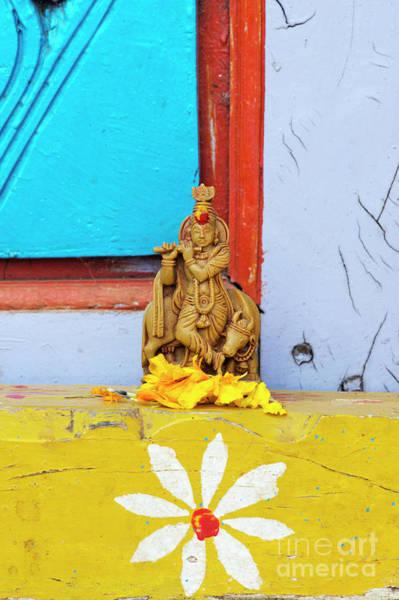 Yogic Wall Art - Photograph - Krishna Blessings by Tim Gainey