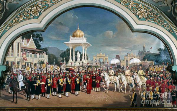 Painting - Krishna Raja Wadiyar Iv by Granger