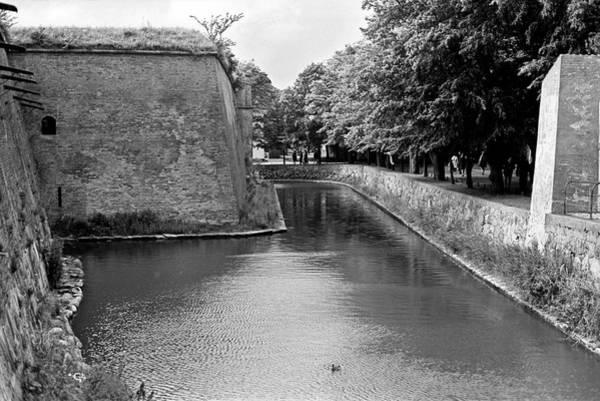 Photograph - Kronborg Castle Moat by Lee Santa