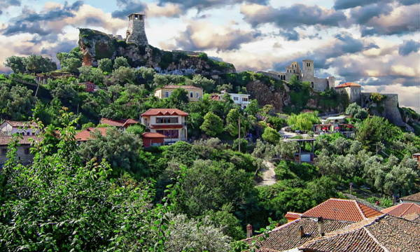 Photograph - Kruja Castle Panorama by Anthony Dezenzio