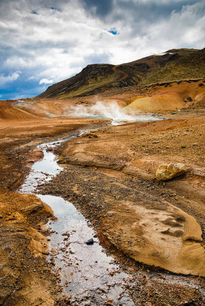 Photograph - Krysuvik Geothermal Area In Iceland by Matthias Hauser