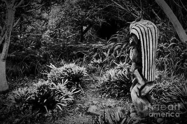 Photograph - Ku Hawaiian Tiki by Sharon Mau