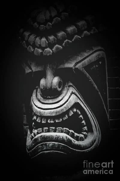Photograph - Ku Kii Tiki Hawaiian Culture Wood Carvings Demigods by Sharon Mau