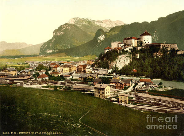 Painting - Kufstein Tyrol Austria-hungary by Celestial Images