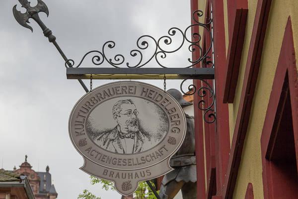 Wall Art - Photograph - Kulturbrauerei Heidelberg Sign by Teresa Mucha