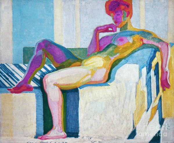 Painting - Kupka Planes Nude by Granger