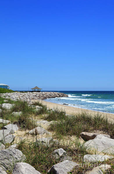 Photograph - Kure Beach At Fort Fisher by Jill Lang