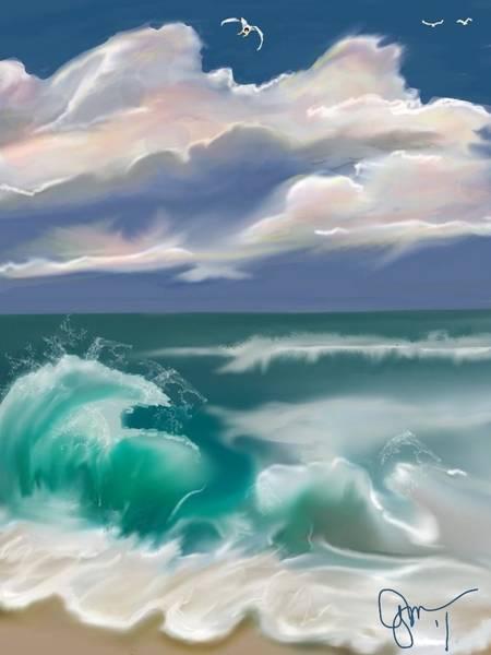 Kure Beach Art Print