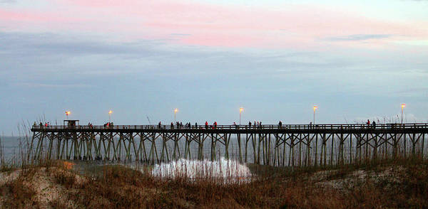 Photograph - Kure Beach Pier by Cynthia Guinn