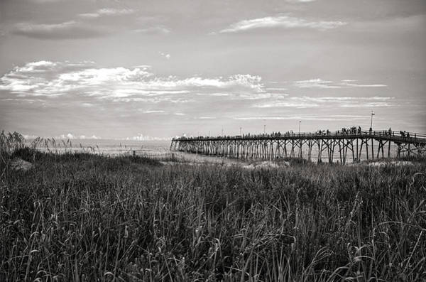 Photograph - Kure Beach Pier by Willard Killough III