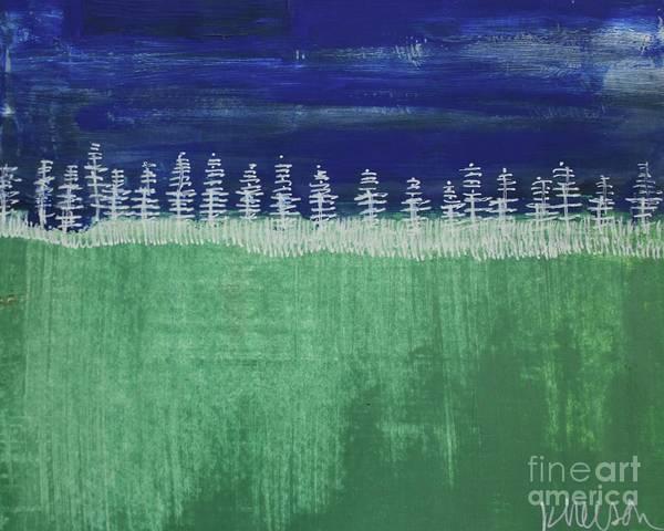 Painting - Kurt's Woods by Kim Nelson