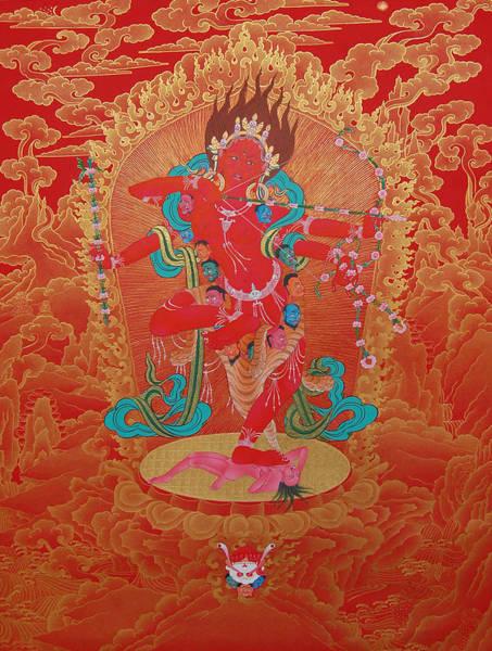Thangka Painting - Kurukulla by Images of Enlightenment