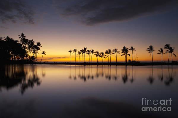 Photograph - Ku'uali'i Fishpond Sunset by Charmian Vistaunet