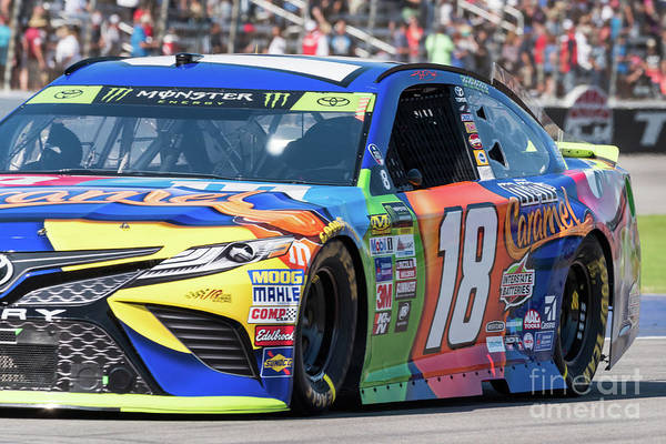 Photograph - Kyle Busch by Paul Quinn